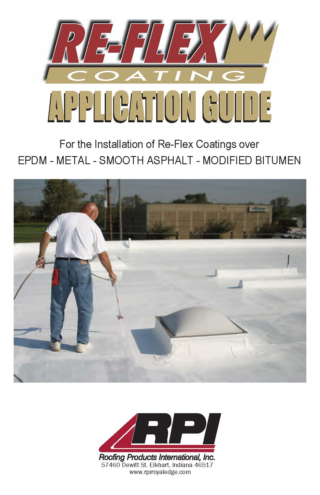 Re Flex Coating Roofing Products International Inc